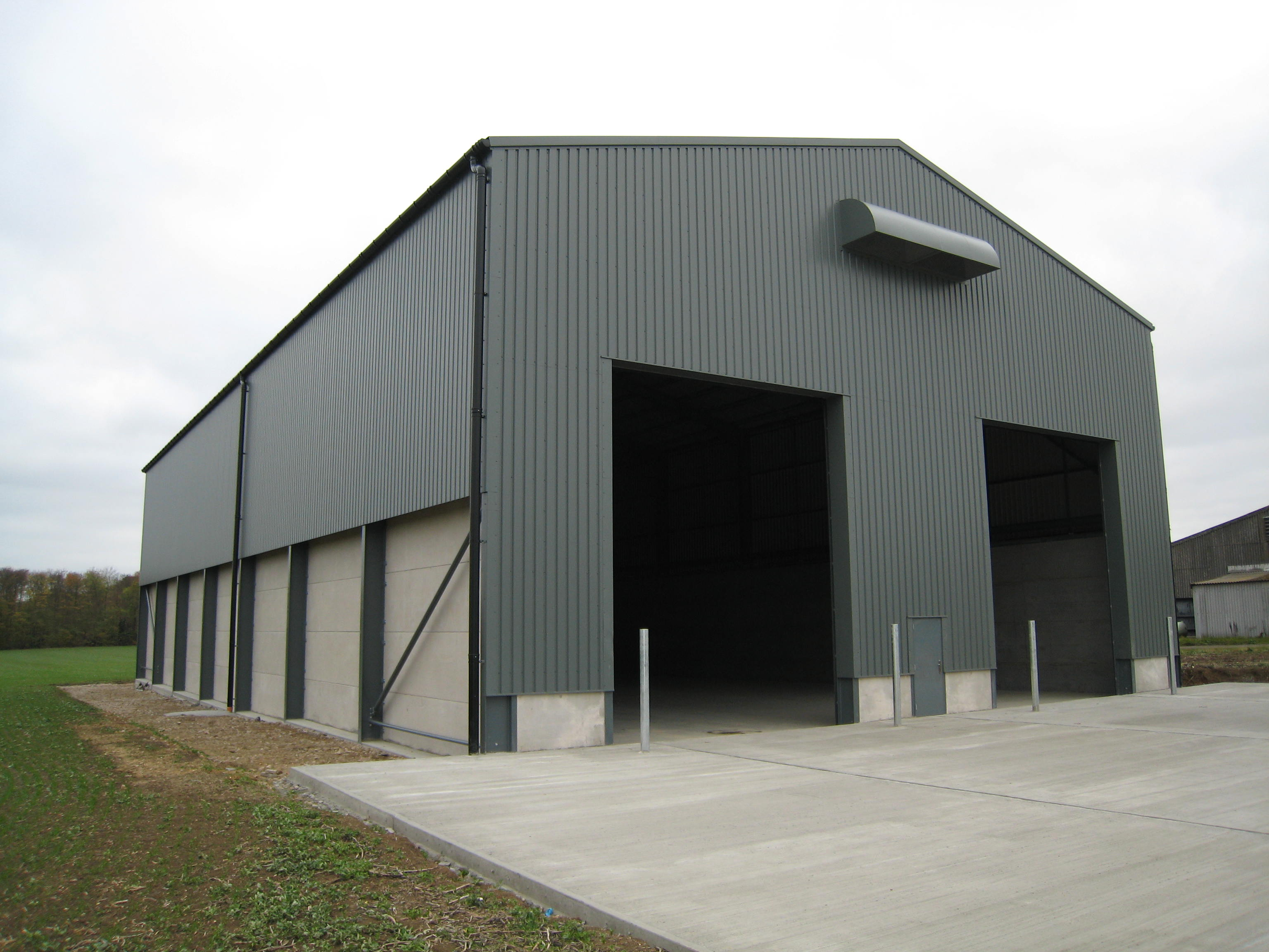 TYPICAL GRAIN STORE